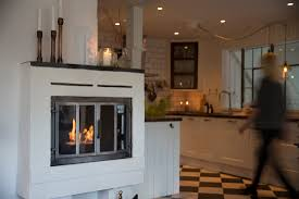 vauni of wide bioethanol fireplace flame archipro
