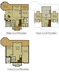 Small 3 Story House Plans 3 Story Open Mountain House Floor Plan Asheville Plans With Hahnow