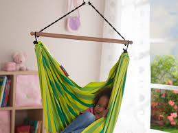 kids room furniture white wicker hammock chair swing for bedroom