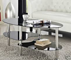 Cara Coffee Table Cara Coffee Table And With Or Nest Of Tables Black Clear Glass