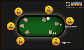 Big Blind Small Blind How To Deal Texas Holdem Poker Being The Dealer