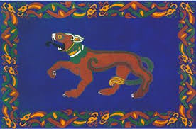 Celtic Area Rugs Wool Area Rug And Wallhanging Hound Design Loyalty By Celtic Rugs