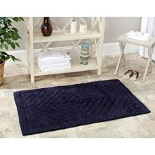 Navy Bath Mat Marquis Bath Mat In Navy Blue Health