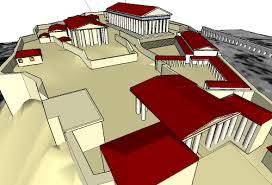 acropolis memory palace and google sketchup art of memory blog