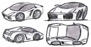 draw car caricatures cartoons