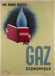 cuisine au gaz 107 best energie images on advertising poster vintage