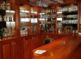 bar amazing home bar interior idea with dark nuanced feat black