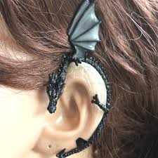 earring cuff the glow in the plated ear cuff