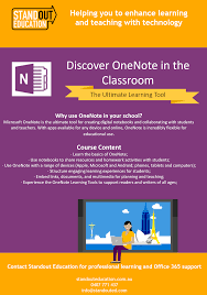 onenote for learning and teaching standout education