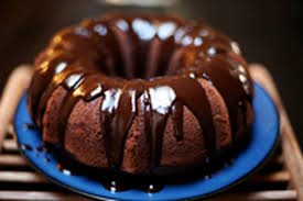 dark chocolate bundt cake with glaze recipe