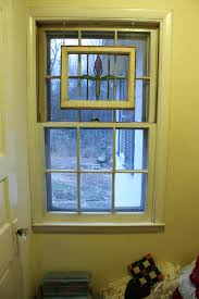 a door replaces a window let s face the music the new door to the bedroom will take the place of this window