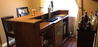 justin u0027s kegerator bar american homebrewers association