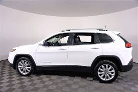 2016 jeep cherokee sport white 2016 jeep cherokee limited fwd 4d sport utility bosak honda