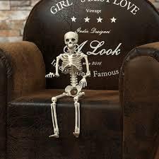 posable skeleton posable skeleton decor scary bone creepy party