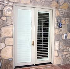 French Doors With Blinds In Glass Double Design Blinds For French Doors Image How To Install