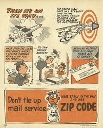 Usps Zip Code Maps by Promotional Zip Code Comic Book
