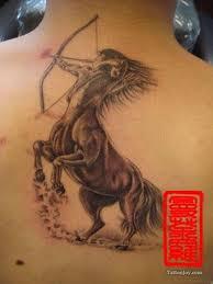 40 impressive sagittarius tattoos on back