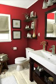 badezimmer rot rote wand 50 ideen mit wandfarbe rot archzine net