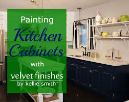 Cover Kitchen Cabinets by How To Paint Kitchen Cabinets With Velvet Finishes Design Asylum