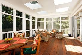 screen porch flooring porch traditional with deck decorative
