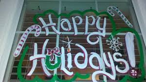 Thanksgiving Window Paintings So You Want To Paint Holiday Windows Holidappy
