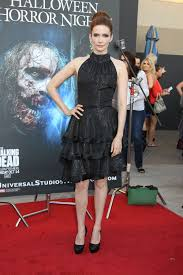 what to wear to halloween horror nights bitsie tulloch at the annual eyegore awards opening night of