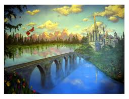 how to paint a wall mural best 25 castle mural ideas on pinterest princess mural