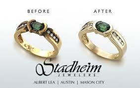 wedding ring repair jewelry repair services stadheim jewelers