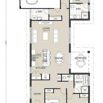 best single story house plans home architecture this layout with rooms single story