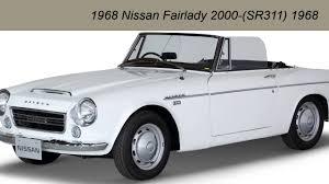 nissan roadster 1970 nissan fairlady 2000 sr 311 1968 youtube