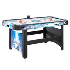 hockey time air hockey table hathaway face off 5 ft air hockey game table for family game rooms