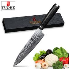 quality knives for kitchen tuohe 8 inch damascus kitchen knives damascus knife high quality