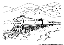 Steam Locomotive Coloring Pages Steam Engine Coloring Pages Quotes Grig3 Org by Steam Locomotive Coloring Pages