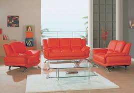 modern living room set in black red or cappuccino leather 1 699 00