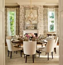 chicago 72 round dining room traditional with plantation shutters