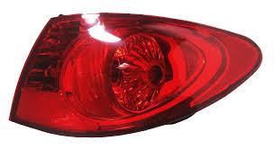 2007 hyundai elantra tail light bulb amazon com hyundai elantra sedan tail light right passenger side