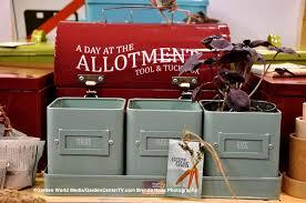 burgon u0026 ball allotment vegetable gardening seed box and tools on