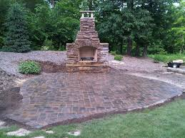 Rock Patio Designs Garden Rustic Patio Decoration Ideas With Walk