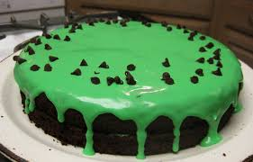 not the normal teenage fare st patrick u0027s day mint chocolate cake