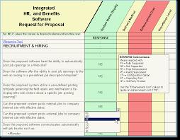 hr system rfp human resource management software evaluation hr