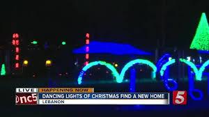 christmas lights lebanon tn the dancing lights of christmas opens in wilson county newschannel