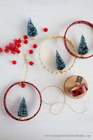 easy and adorable tree ring ornaments