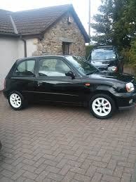 my nissan micra sport black 1l 2003 facelift micra sports club