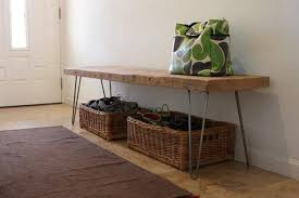 reclaimed wood bench with storage loccie better homes gardens ideas