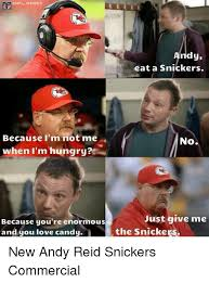 Snickers Commercial Meme - onfl memes because i m not me when i m hungry because you re