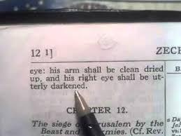 why do the illuminati use the left eye