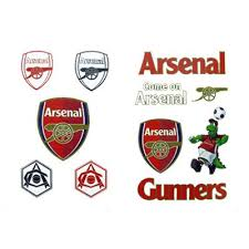 arsenal fc tattoo pack football gifts amazon co uk toys u0026 games