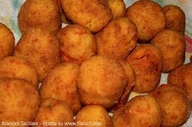 cuisine sicilienne arancini filicudi info recette pour les arancini siciliens