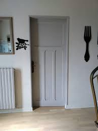 porte style atelier d artiste transformation d u0027une porte en bois en une porte style verrière
