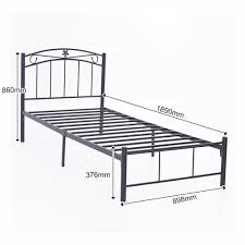 Single Bed Frame Metal Single Bed Frame Likable Metalle With Drawers Nz Kmart Argos